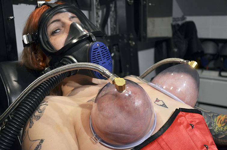 Love sliding medical oxygen mask fetish hot wanna