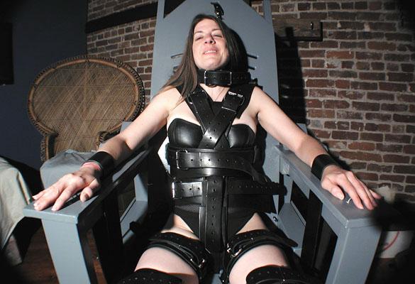 Girl in bondage chair New Bondage Chair By Paul Mauser Studios
